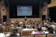 Els alumnes del màster en arquitectura de l'ETSAV-UPC reunits a l'Auditori aquest dimecres