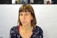 La psicòloga Anna Sàlvia durant la xerrada telemàtica de dimarts passat || R.G.