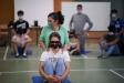 Sessió del taller, dimecres passat al gimnàs de l'institut Castellar. || Q. Pascual