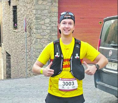 Jordi Graells a la Salomon Ultra Pirineu