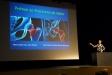 La castellarenca Ester Comellas, doctora i especialista en Traumatologia i Cirurgia ortopèdica a la conferència de L'AULA || Francesc Vilaclara